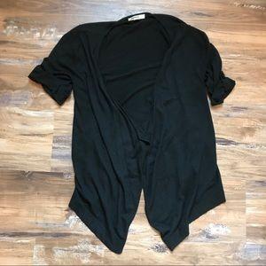 Kenzie- Short sleeve hi-low cardigan